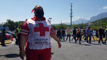 Realizan múltiples simulacros en Nuevo León por el Di a Nacional de la Protección Civil
