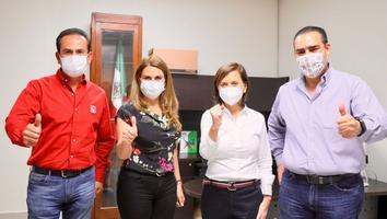 Respalda CEN del PRI a Cristina Díaz; confía en refrendar triunfo