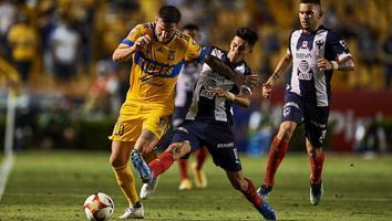 Tigres y Rayados, equipos de la Liga MX