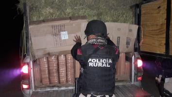 Capturan a hombre con una tonelada de droga en Galeana