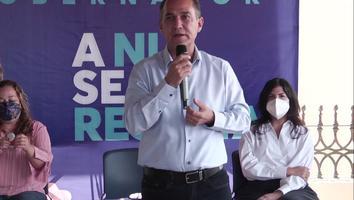 Fernando Larrazabal reta a Samuel García a explicar cómo obtendrá recursos para obras