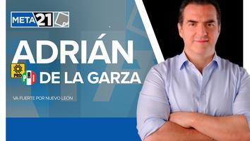 Adrián de la Garza. Quién es el candidato a gobernador de NL por PRI-PRD
