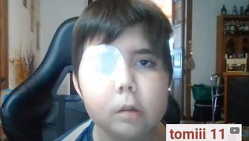 Niño con cáncer sueña con ser youtuber; llega a más de un millón de suscriptores