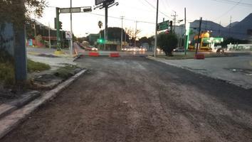 A cuatro meses del huracán 'Hanna' calle Antiguo Camino al Mirador continúa destrozada