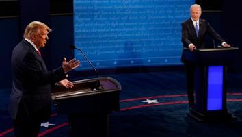 Trump y Biden intercambian ataques sobre coronavirus en el último debate
