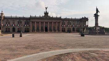 En Nuevo León, fervor patrio se quedó en casa