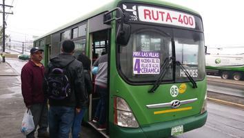 Aumenta a 17 pesos la tarifa en efectivo de algunas rutas suburbanas