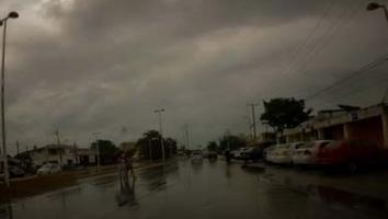 Pronostican fuertes tormentas en el sureste de México