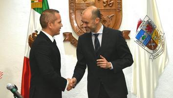 Nombran a Gerardo Escamilla Vargas como Secretario de Seguridad en San Pedro