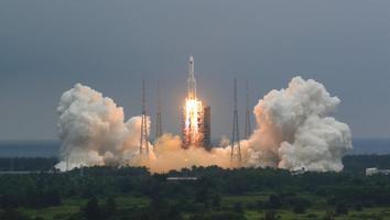 China revela que cohete está fuera de control