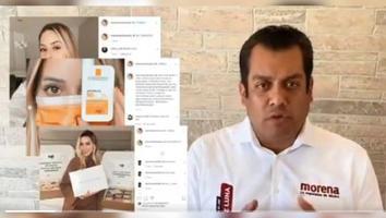 Morena denuncia a Samuel García por apoyo de Mariana Rodríguez
