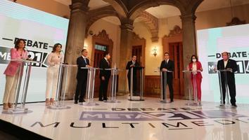 Candidatos a la gubernatura de NL presentan propuestas en Debate Meta 21