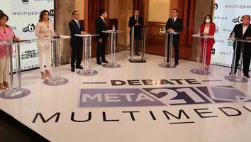 Tras el Debate Meta 21 la imagen de todos los candidatos cambió, dice Roberta Garza