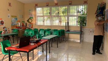 Inician clases presenciales en Campeche