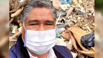 Víctor Fuentes se compromete en limpiar y mejorar la seguridad en Monterrey