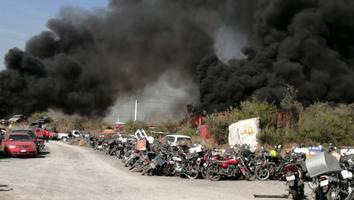Incendio en corralón provocó movilización en El Carmen
