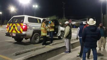 Realizan operativo carrusel en García por las bajas temperaturas