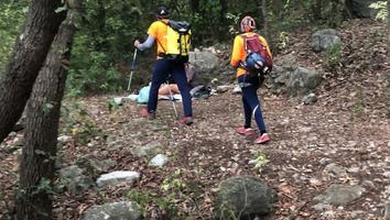 Auxilian a hombre por problemas de deshidratación en Cerro de las Mitras.