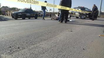 Camión atropella a hombre de 64 años