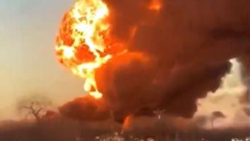 Choque entre tren y camión provoca incendio en Texas