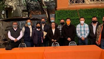 Integrantes de México Libre se suman a proyecto de Movimiento Ciudadano parapróximaselecciones