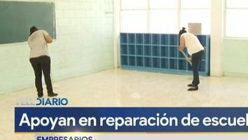 Empresas apoyan reparación de escuelas en malas condiciones en Santa Catarina