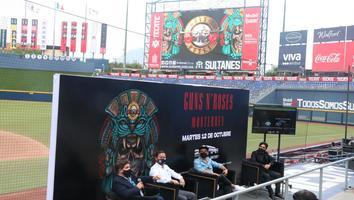 Se alista todo para el concierto de Guns N' Roses en Monterrey
