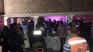 Cancelan boda en salón que tenía 300 invitados