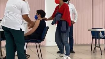 ¡Con amparo en mano! En Oaxaca se vacunan a 250 menores de 18 años contra el Covid-19