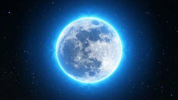 Inusual luna azul aparecerá en la noche de Halloween