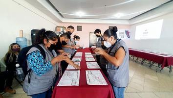 PREP adelanta 34.9% de votación general para Morena; partidos nuevos podrían perder registro