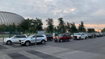 Acuden a vacunación contra Covid-19 en Drive-Thru de Guadalupe