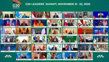 Crisis por coronavirus domina entre los temas de la cumbre del G20