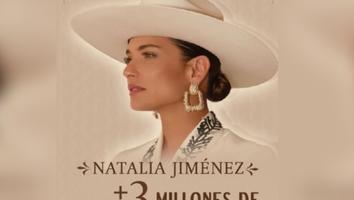 "Natalia Jiménez lanza volumen 2 de ""México de mi corazón"""