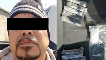 Detienen a cinco por posesión de droga en Monterrey