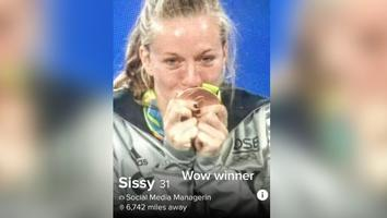 TikToker revela truco para poder ligar con atletas olímpicas en Tinder