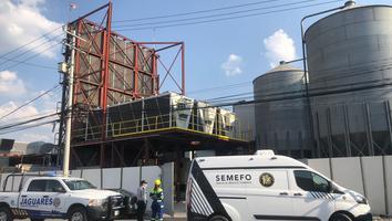 Muere trabajador de una fábrica de plástico al caer de una altura de 10 metros en Santa Catarina