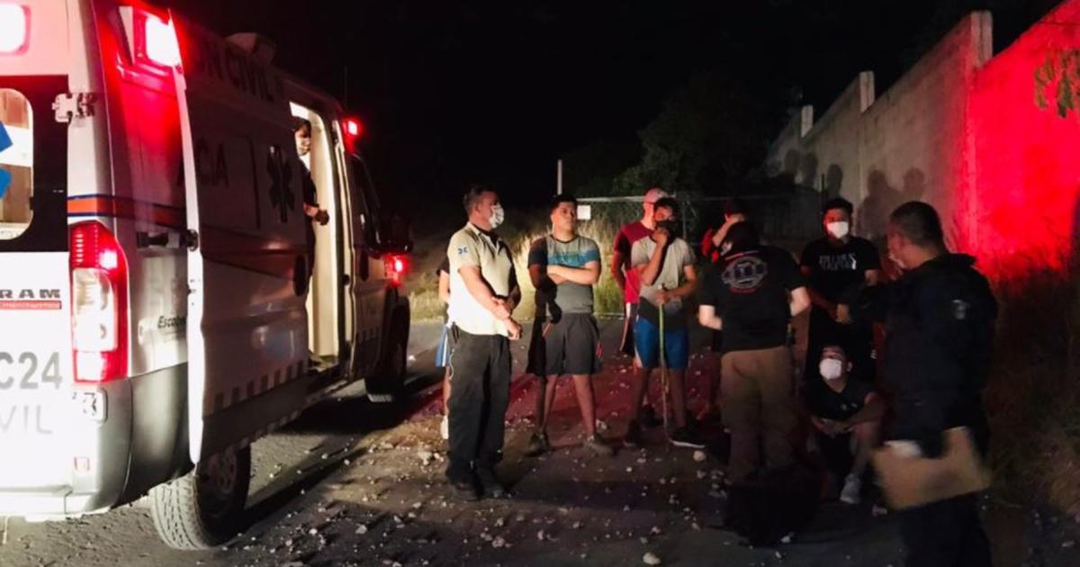 Rescatan a seis jóvenes y un niño del Cerro del Topo Chico