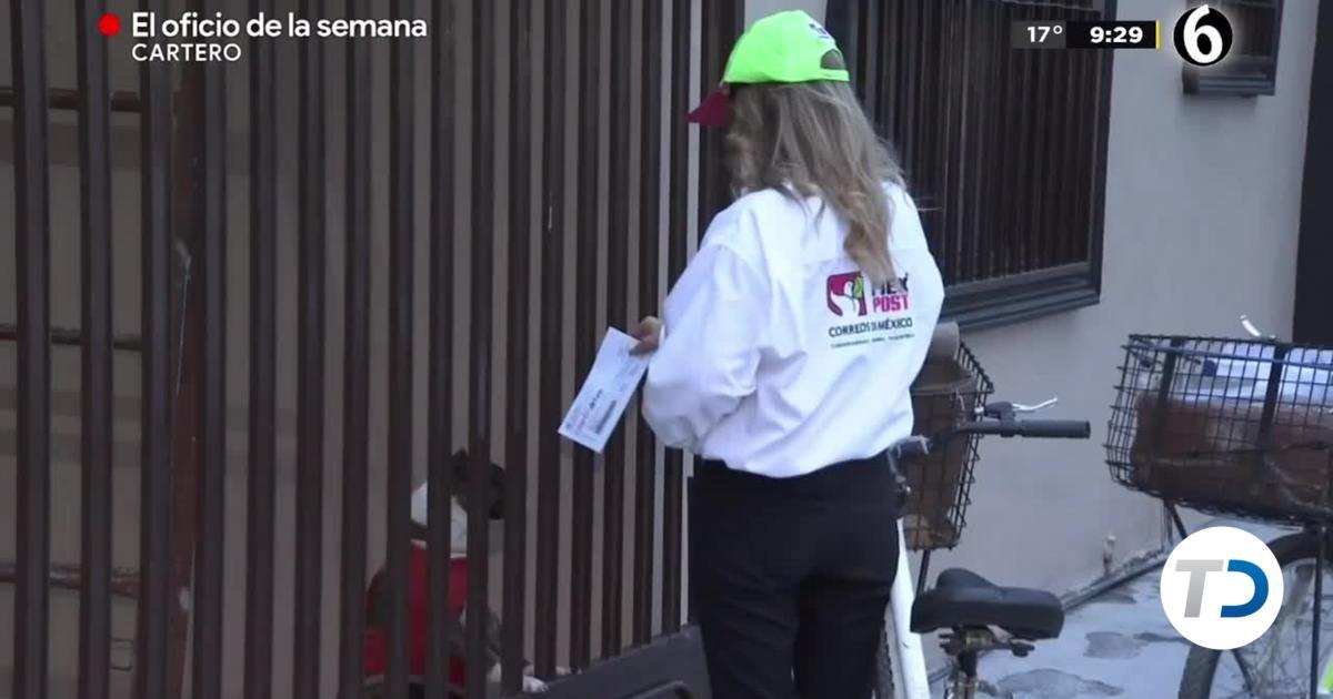 Los carteros: un oficio que sobrevive en el tiempo - Telediario Monterrey