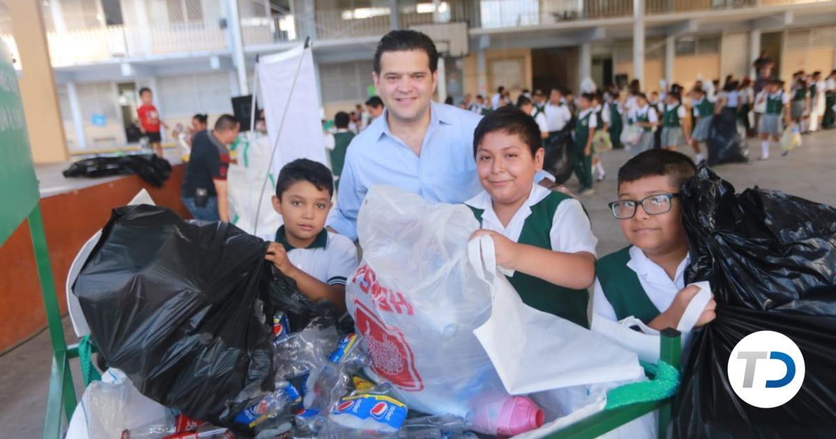 Francisco Cienfuegos lidera Eco Challenge, programa de reciclaje - Telediario Monterrey